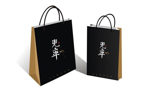 VI设计兜率中式服装(服装品牌VI)金墨品牌设计