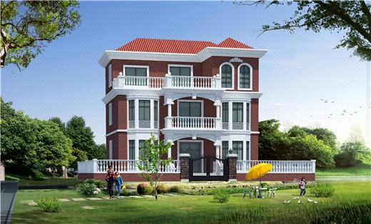 建筑设计二三层自建房别墅施工图效果图结构水电设计图纸