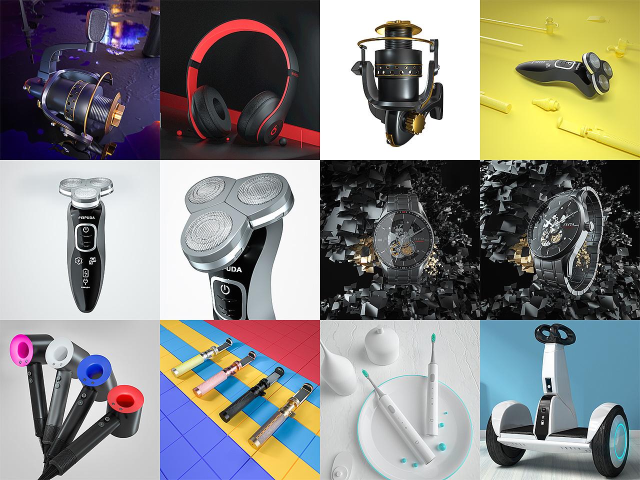 3D建模设计SU犀牛玛雅人物模型制作游戏建模三维效果图渲染。