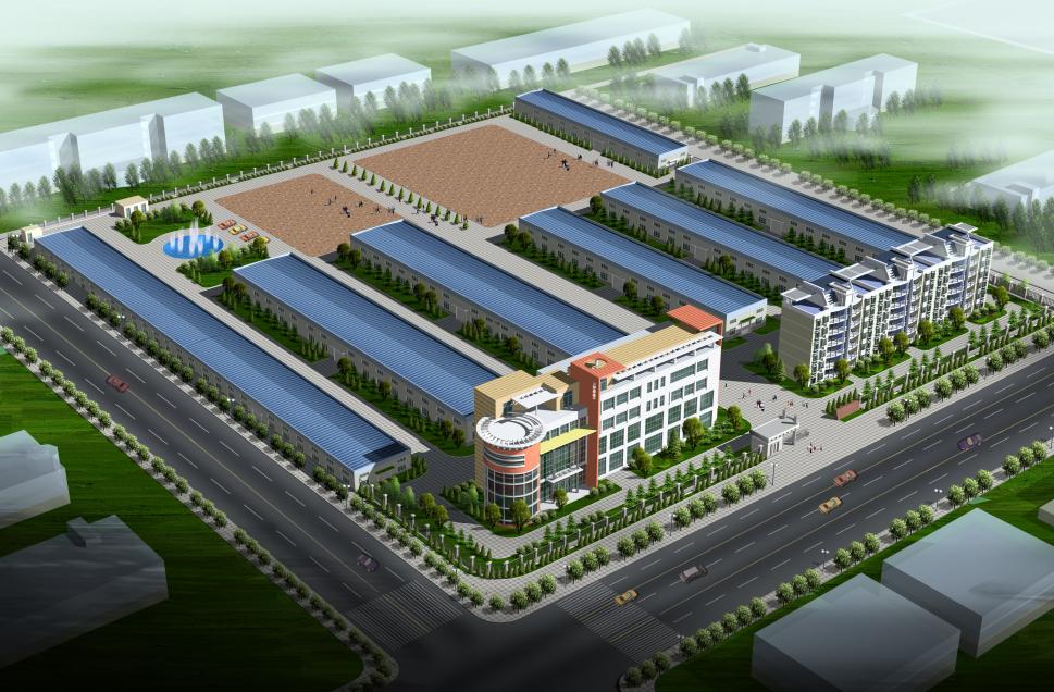 规划设计/鸟瞰图/工业园/产业园/农业园/物流园/景观设计