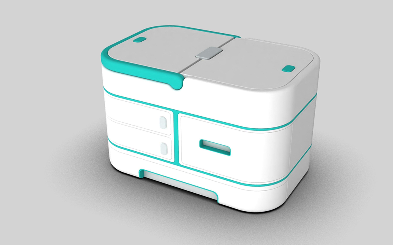 【家用医药箱】工业设计产品外观结构设计3D建模模具样品制作