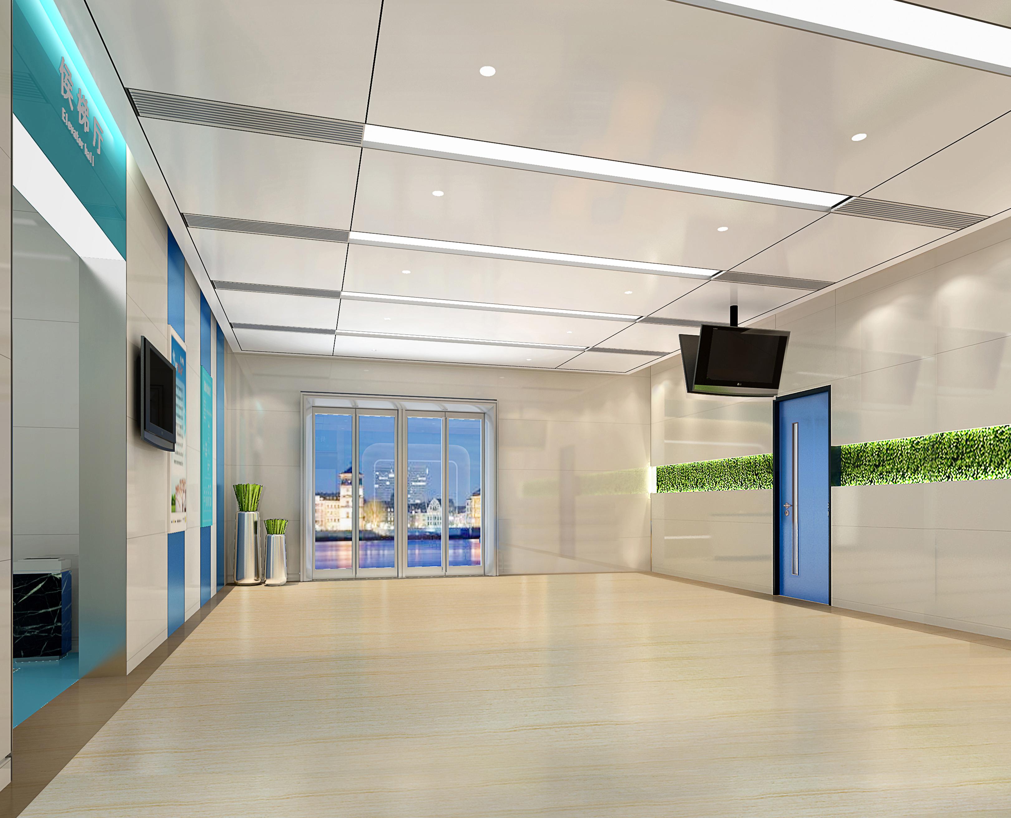 医疗空间设计效果图医院诊所社区医院体检中心整形美容设计装修