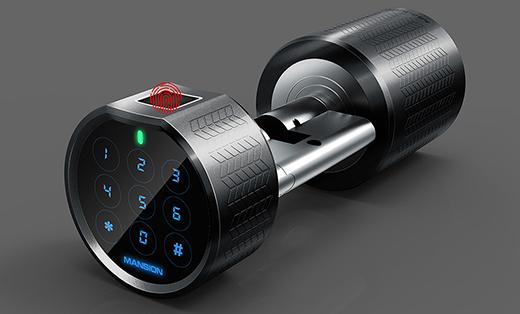 挂锁 室内门锁 智能锁 工业设计 产品外观设计 结构设计