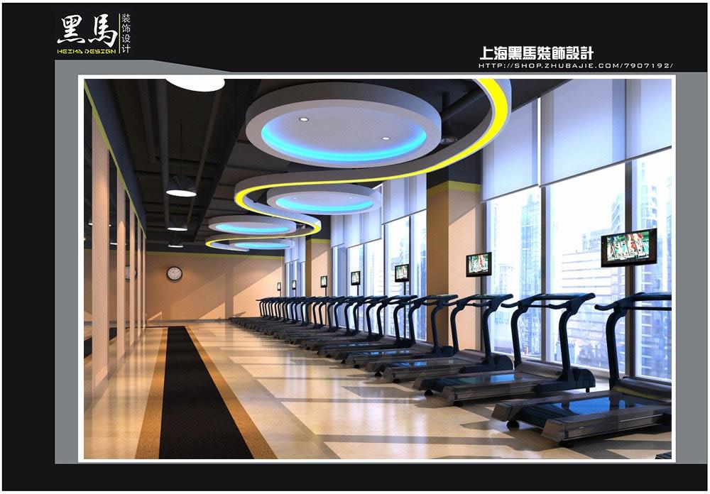健身中心、健身房、跆拳道馆、瑜伽馆、效果图、装修设计、运动馆