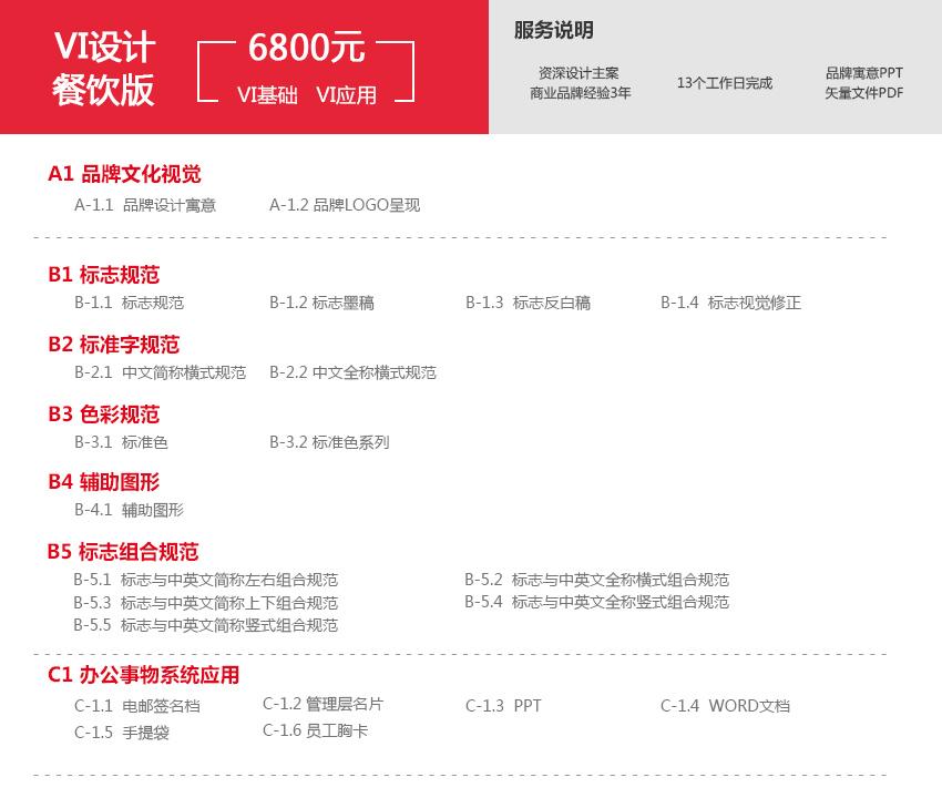 _【弓与笔VI设计全案】公司全套企业商标vi品牌餐饮应用系统16