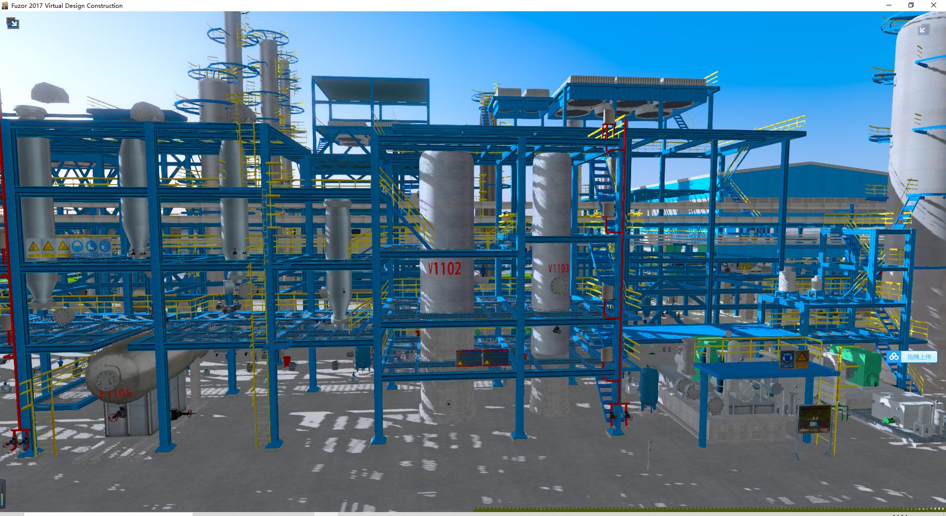 化工厂3D建模/化工3D建模/工业3D建模/工业园3D建模
