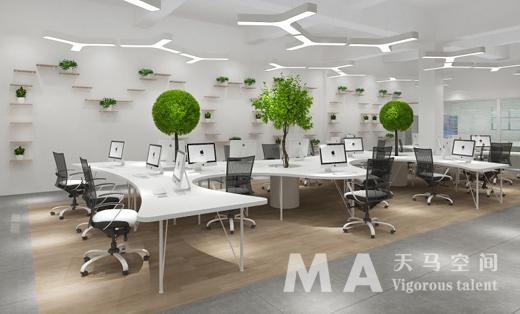 MOKOO服饰广州分部办公室设计