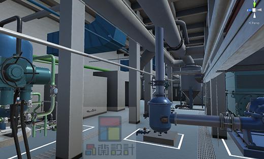 虚拟仿真模拟工厂 vr三维模型 u3d3d仿真建模