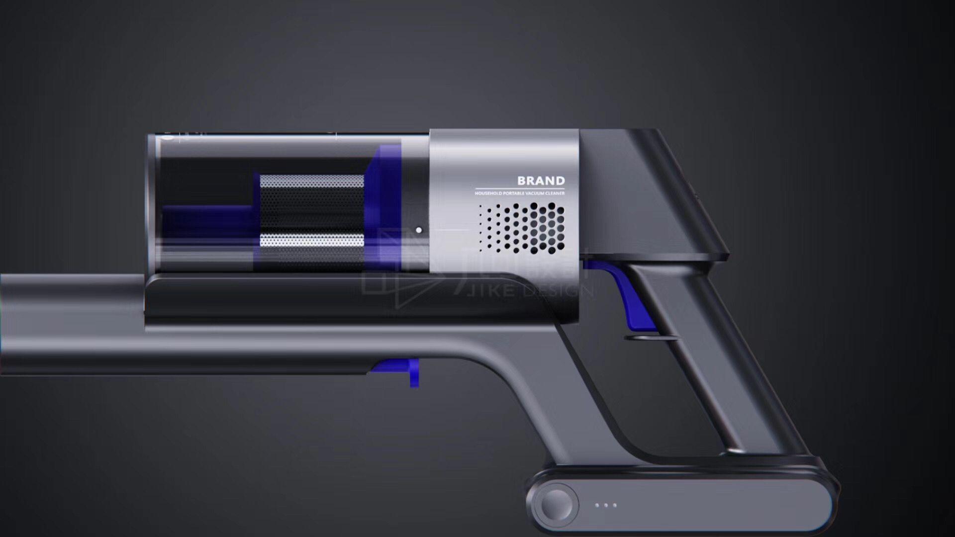 [手持家电电器]家用吸尘器/吹风机/电熨斗外观外形工业设计