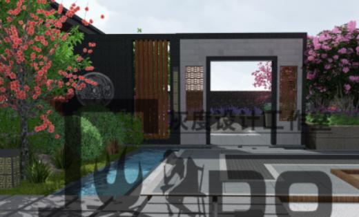 新中式庭院景观设计