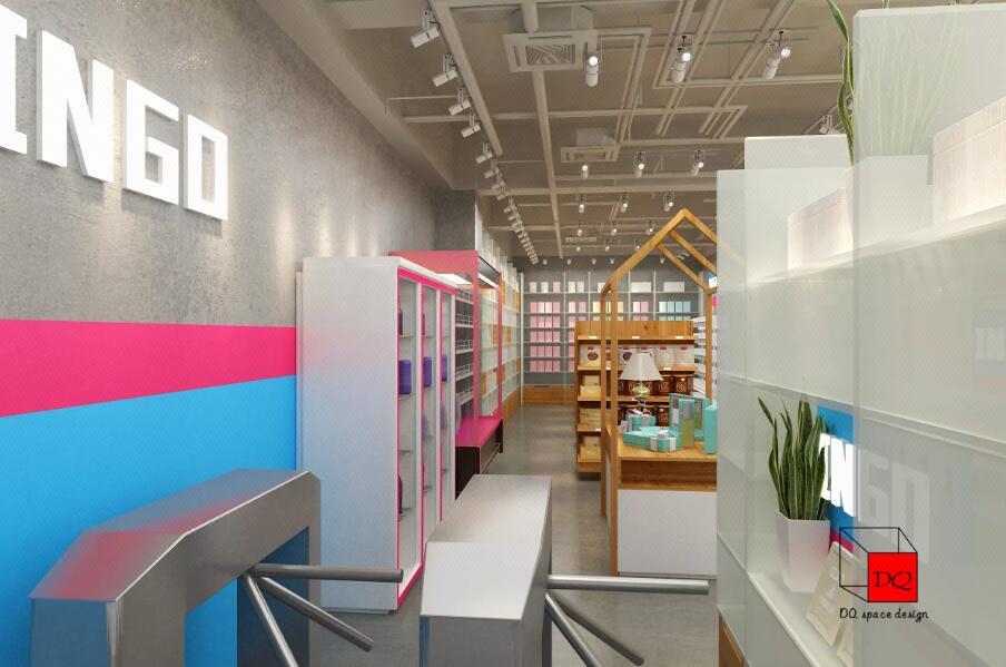 便利店设计超市设计水果店设计品牌连锁形象店铺装修设计 效果图