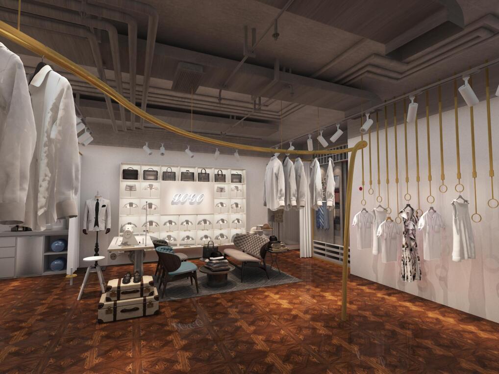 服装店空间设计/女装童装男装/运动品牌鞋店/服装定制装修设计