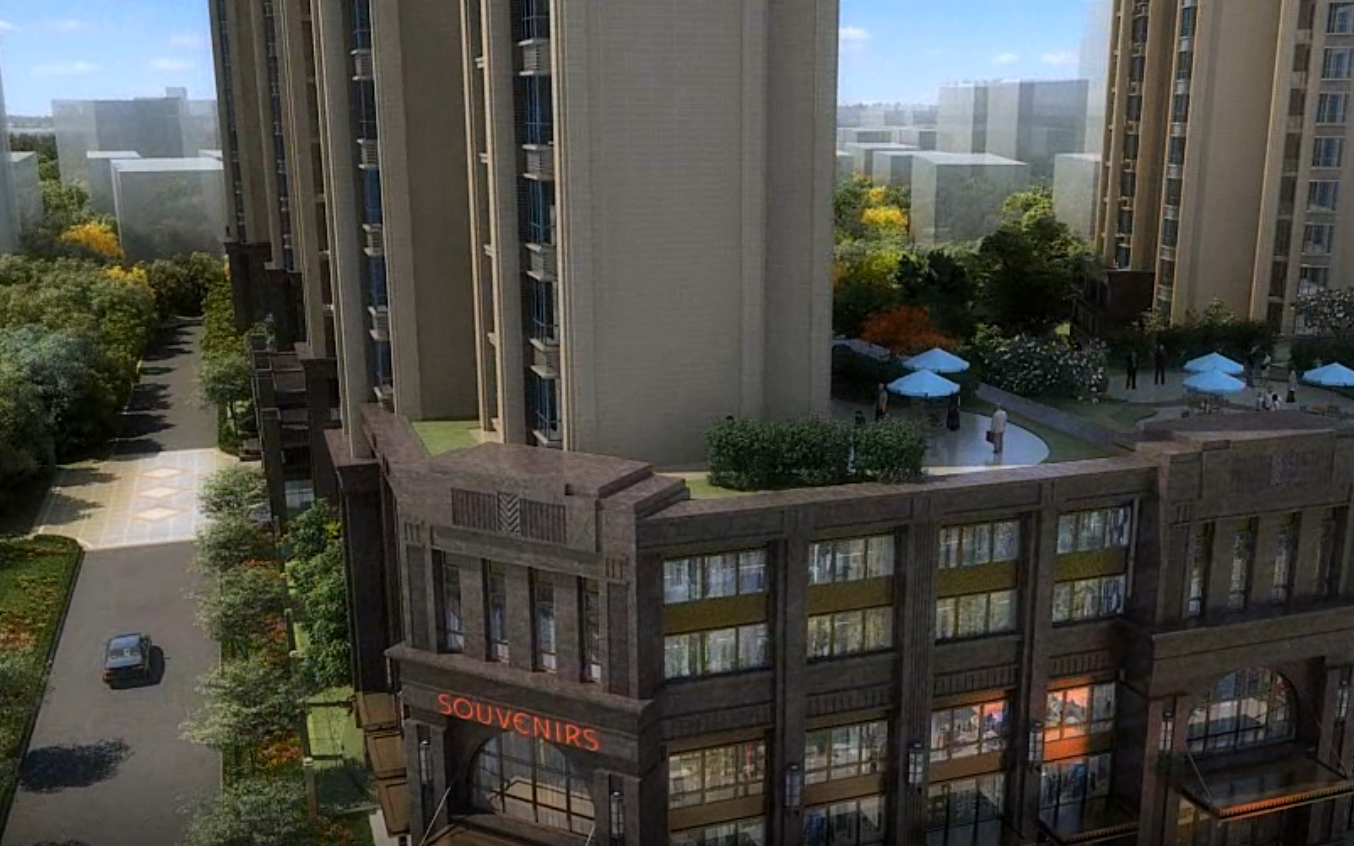 房地产动画宣传建筑楼盘厂区漫游3d视频动画