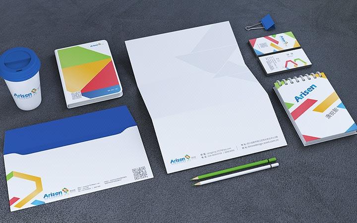 企业VI设计IT互联网工业汽车餐饮农业新媒体美容VI全套导视