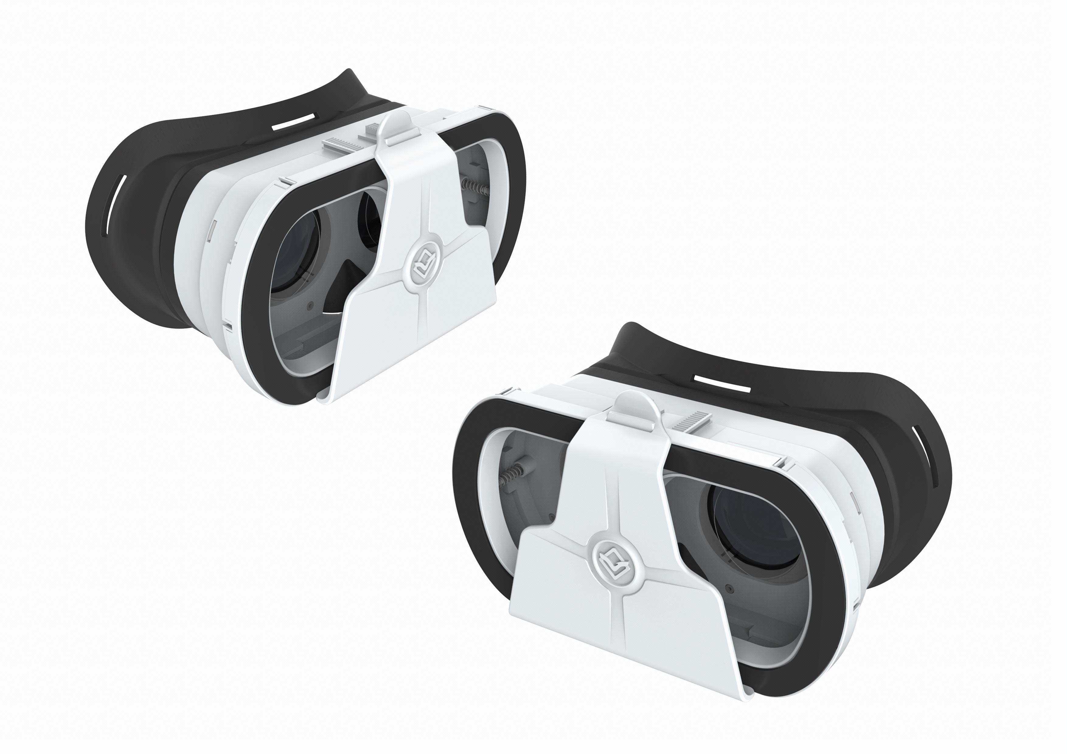 VR眼镜虚拟产品外观结构设计工业产品设计效果图制作3D建模