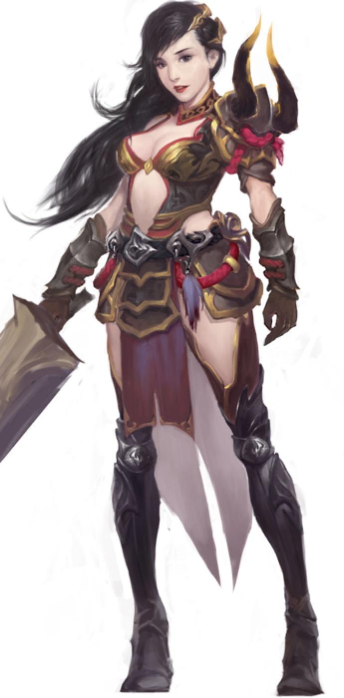 游戏角色卡通形象设计日韩欧美角色Q版吉祥物原画游戏美术外包