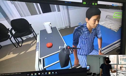 VR医疗护理培训