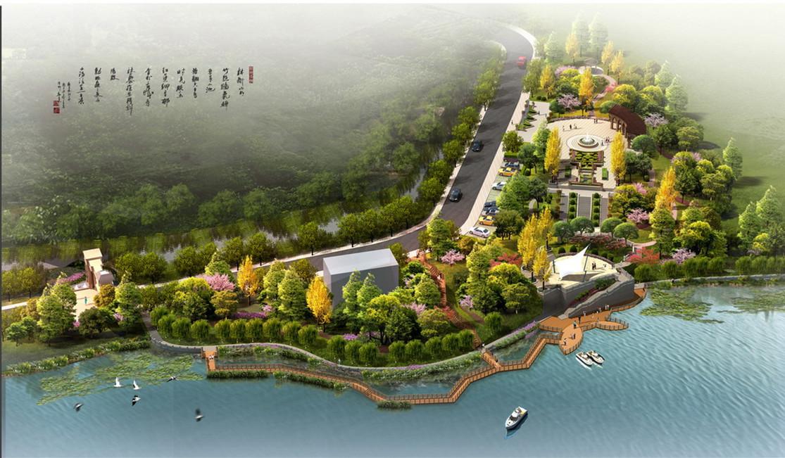 旅游景区区域规划农业园商业区景观园林商业区酒店工程设计