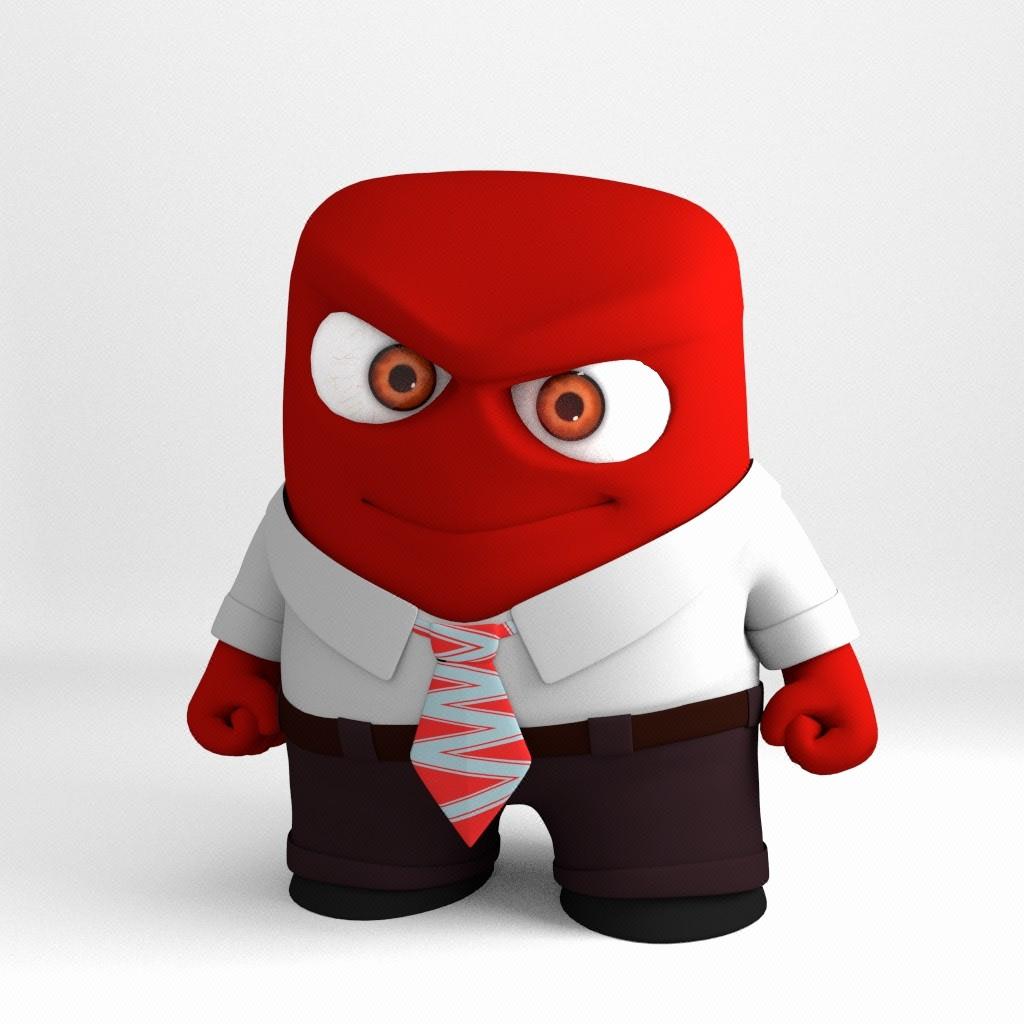 3D卡通形象吉祥物设计三维建模设计3维造型设计立体造型设计