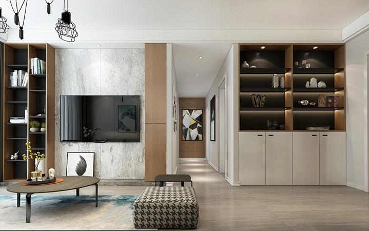 家装设计新房装修民房二手房旧房改造软装方案施工效果图设计