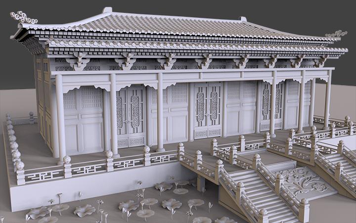 场景建模|建筑房屋建模|街道模型制作|建筑动画3D打印模型