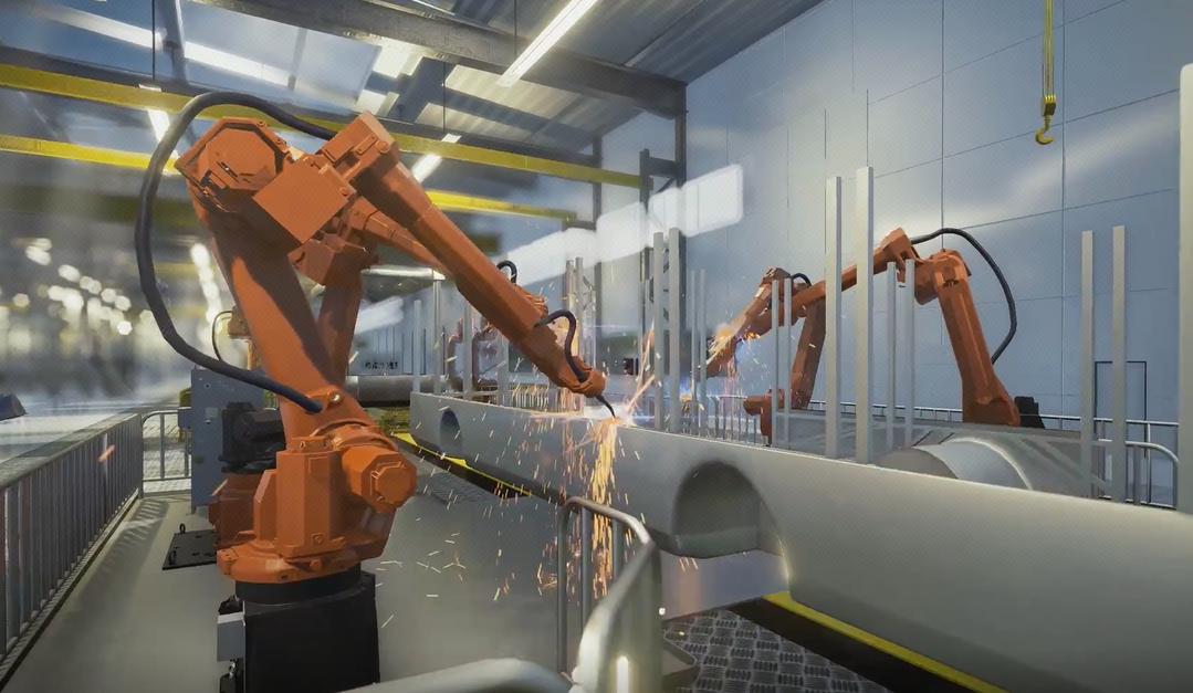垂杨3D虚拟现实/虚拟仿真VR,AR程序设计/工厂虚拟系统