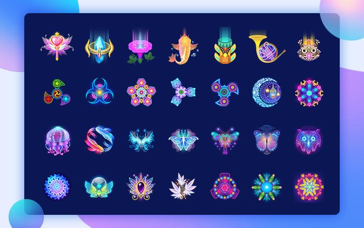 图标设计icon软件ui界面ui按钮菜单面板设计游戏美术
