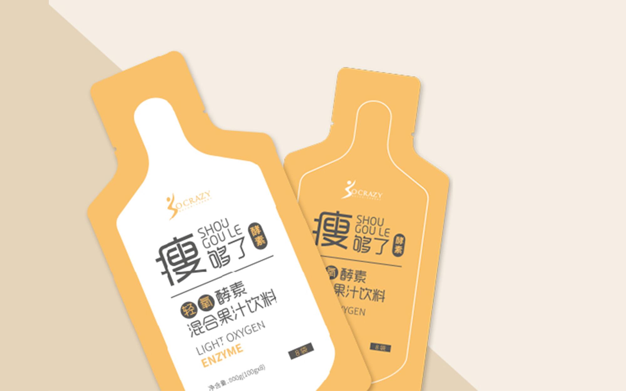 包装设计食品茶叶标签包装盒包装袋设计手提袋瓶贴礼盒插画国潮风