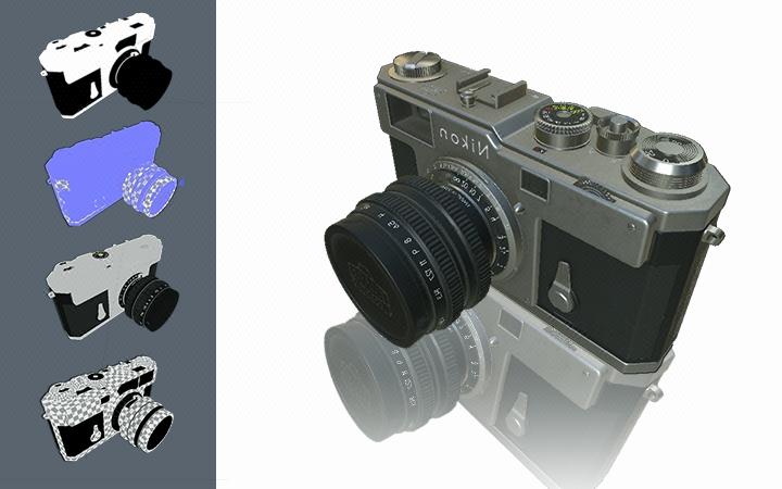 产品建模/Web3D三维展示/ar模型/家具模型/商品动画