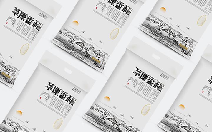 食品茶叶包装盒设计手提袋包装袋设计水果农产品产品瓶贴包装设计