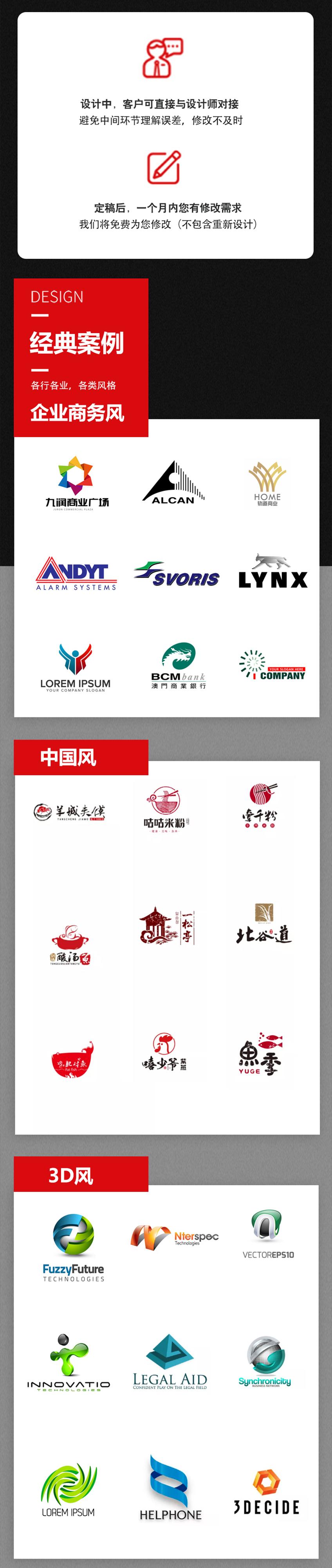 _企业公司品牌logo设计图文原创标志商标LOGO图标平面设计4