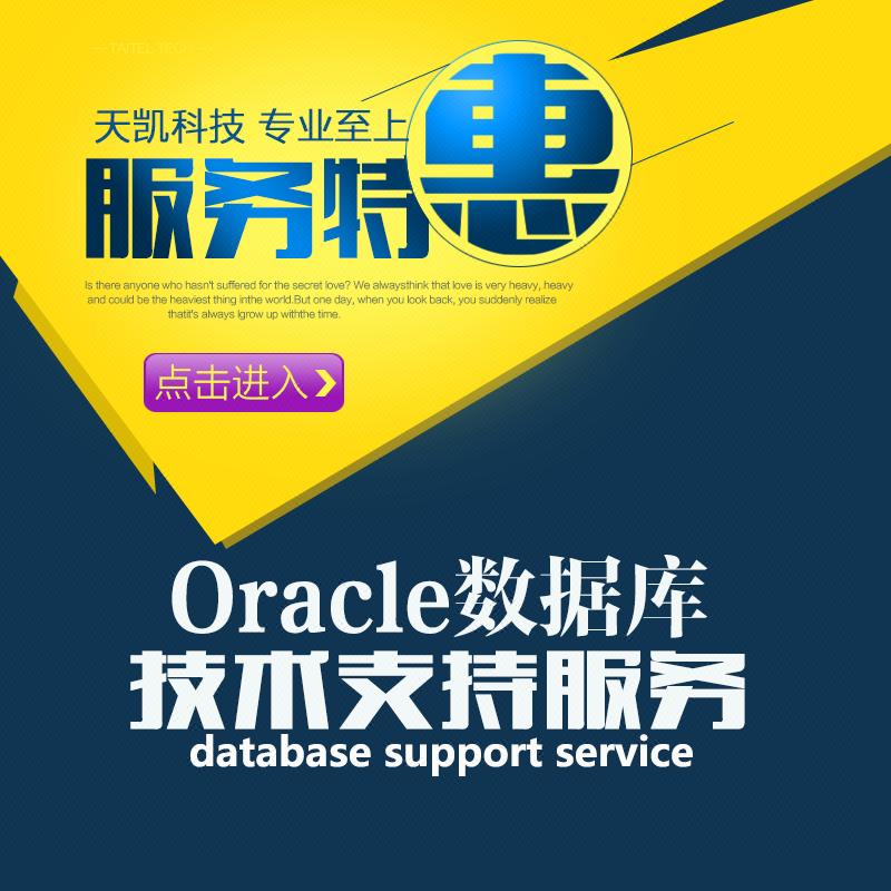 Oracle数据库维护/技术支持/数据库恢复/性能优化服务