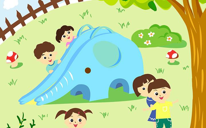 _儿童插画设计-儿插绘本童书-教育书籍手册-幼儿启蒙插画美术5