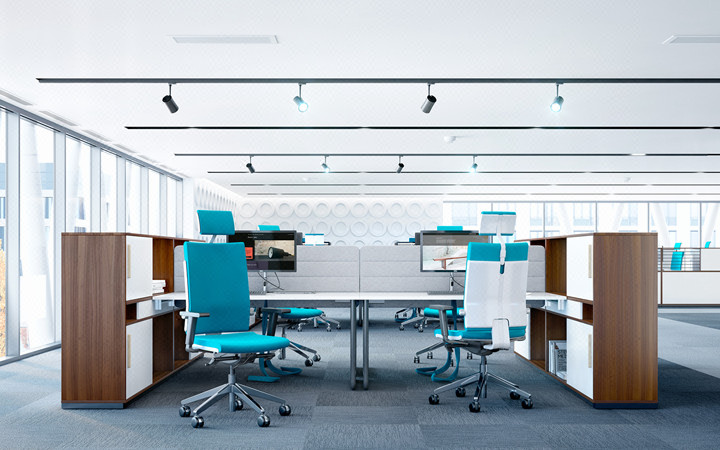 办公室 写字间 创业园 创意办公 装修设计 效果图