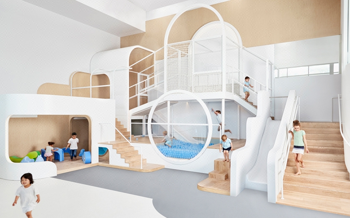 幼儿园 早教中心 培训机构 教育机构 效果图 装修 设计