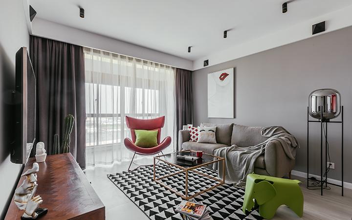 新房家装设计旧房改造现代简约北欧新中式美式欧式装修设计效果图