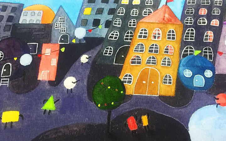 _儿童插画设计-儿插绘本童书-教育书籍手册-幼儿启蒙插画美术4