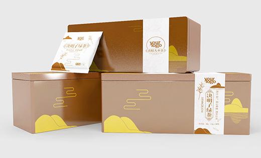包装设计:铁盒代用茶
