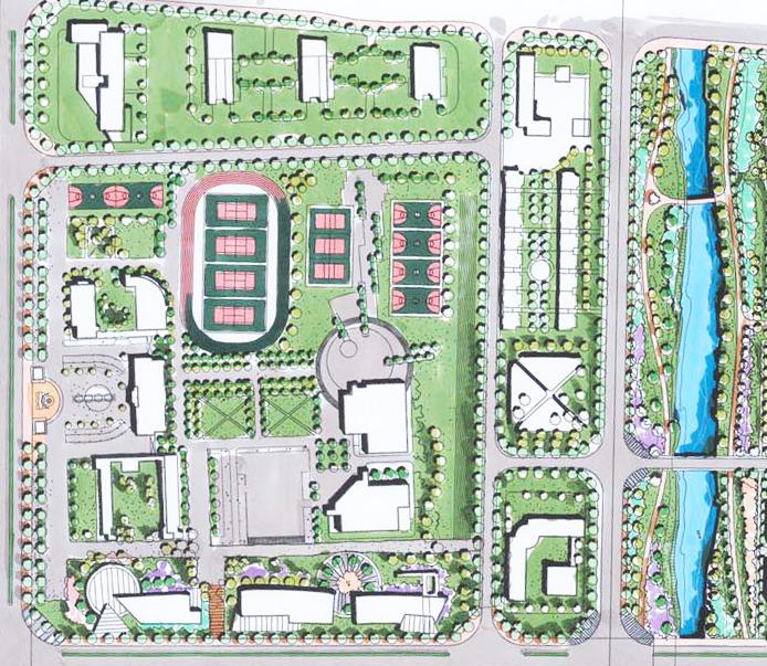 校园景观设计