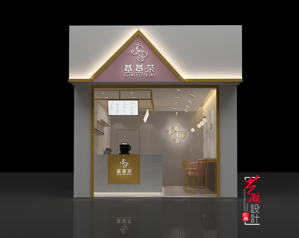 SI品牌形象设计店铺连锁店装修设计商场店面效果图空间设计